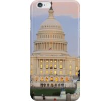 the US Capitol on a nice day iPhone Case/Skin