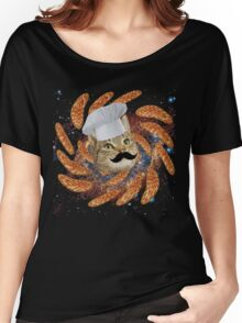 Chef Cat Women's Relaxed Fit T-Shirt