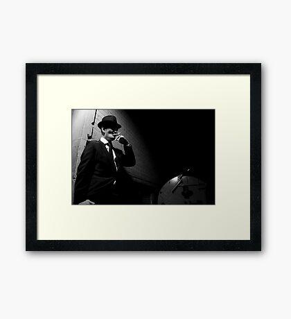 Joe Shmokes 1 Framed Print