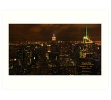 The empire state building, esb. Art Print