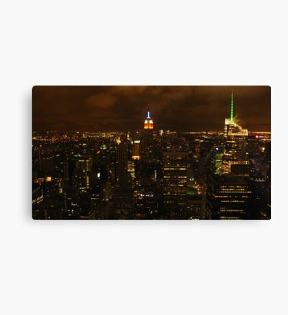The empire state building, esb. Canvas Print