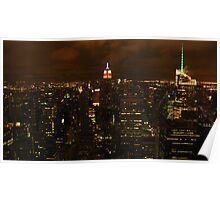 The empire state building, esb. Poster