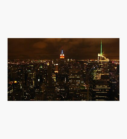The empire state building, esb. Photographic Print