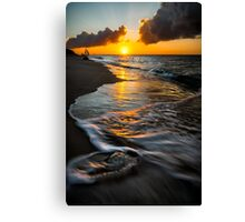 Boracay Sunset Canvas Print