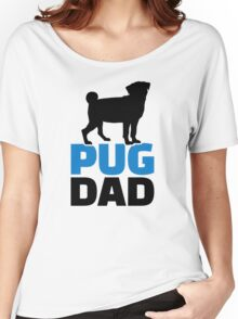 Pug Dad Women's Relaxed Fit T-Shirt