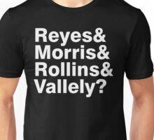 Black Flag vocals list ampersand shirt Unisex T-Shirt