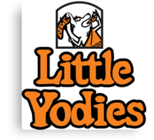 Little Yodies Canvas Print