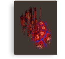 Spiral Crash Canvas Print