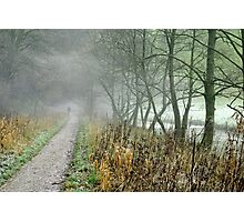 The Disappearing Man, Wolfscote Dale Photographic Print