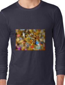 One Life One Love Padlocks of Love in Paris Long Sleeve T-Shirt
