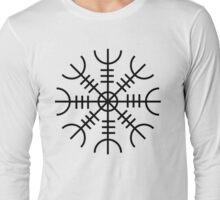 Aegishjalmur Basic Design Long Sleeve T-Shirt