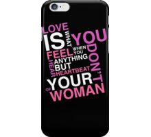 Cute Love Heart Quotes iPhone Case/Skin
