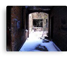 Dark Passages,Light Spaces  Canvas Print