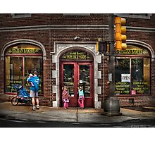 The Italian Bakery Photographic Print