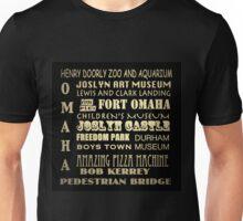 Omaha Nebraska Famous Landmarks Unisex T-Shirt