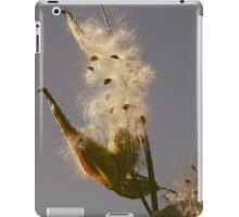 Milkweed Fluff iPad Case/Skin
