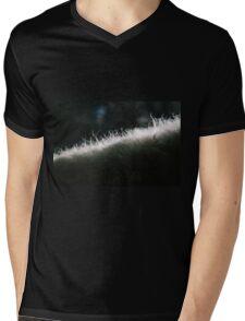 Poddle Dog Fur Backlit Mens V-Neck T-Shirt