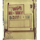 Twin Hi-Way Drive in Sign by Steven Godfrey