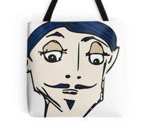 Monsier Moustache Tote Bag