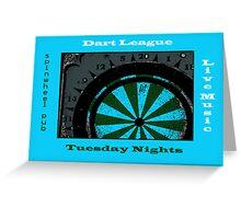 tuesday night Greeting Card