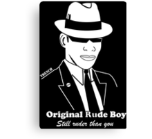 Original Rude Boy Canvas Print
