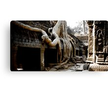 Temples of Angkor - Cambodia Canvas Print
