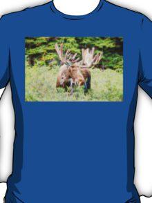 Moose Glow  T-Shirt