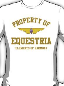 Property of Equestria: Generosity T-Shirt