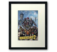 Borderlands 2 Poster Framed Print