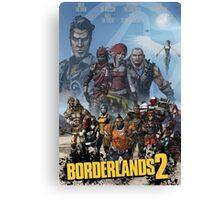 Borderlands 2 Poster Canvas Print