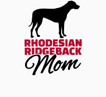 Rhodesian Ridgeback Mom Womens Fitted T-Shirt