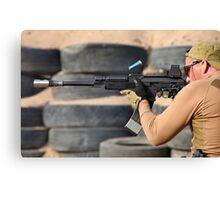 Kalashnikov large caliber Canvas Print