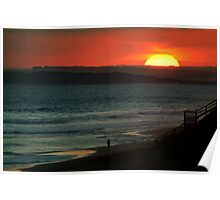 Last Surf,13Th Beach,Bellarine Peninsula Poster