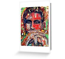 Thomas Sankara Greeting Card