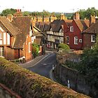 Aylesford High Street from Cage Hill by Mortimer123