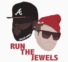 Run The Jewels - Minimalistic Print by CongressTart