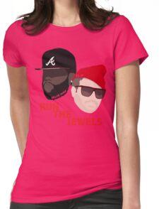 Run The Jewels - Minimalistic Print Womens Fitted T-Shirt