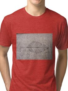 Sidewalk Art by Leaf Tri-blend T-Shirt