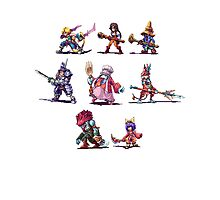 Final Fantasy 9 Characters Photographic Print