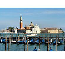 Venice View Photographic Print