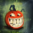 Cheeky Jack O Lantern by dimarie
