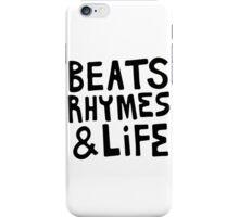 Beats, Rhymes & Life iPhone Case/Skin