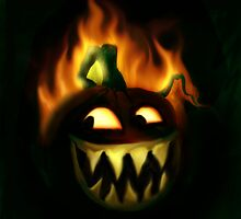Jacks Hallowe'en fire by dimarie
