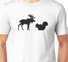 Moose & Squirrel Unisex T-Shirt