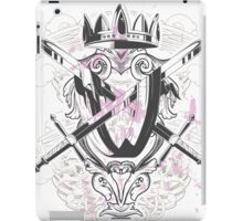 Crown and Swords iPad Case/Skin