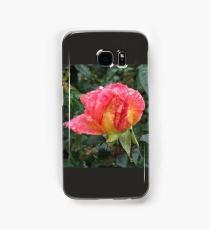 Wet and Wild Rose Samsung Galaxy Case/Skin