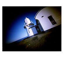World Pinhole Day - Taking Point Lighthouse Photographic Print