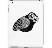 greek owl iPad Case/Skin