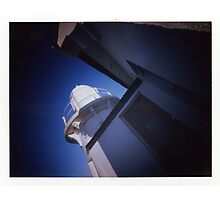 Taking Point Lighthouse - Poalroid pinhole 2 Photographic Print