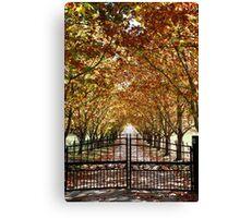Autumn Gateway Canvas Print